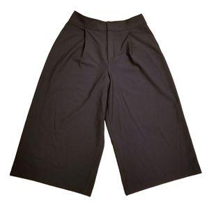 Club Monaco High Waist Wide Leg Crop Cullottes